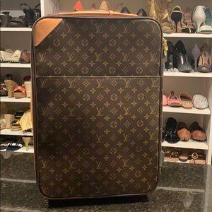 Louis Vuitton Pegase 55 Monogram Rolling Suitcase